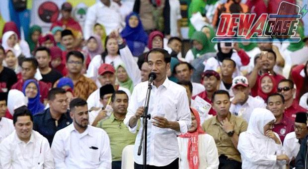 "Jokowi "" Mari Kita Berangkulan Kembali """